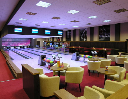 Bowling sport bar
