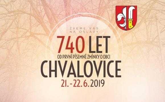 Chvalovice 740 let
